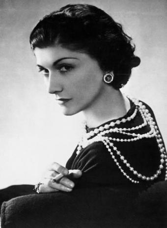 French Fashion Designer Gabrielle Coco Bonheur Chanel Lizellemaria